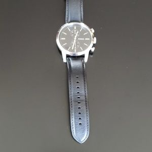 Fossil Men's Watch with Leather Strap